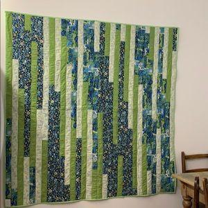 Quilt bedspread patchwork